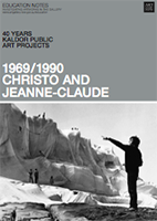 PROJECT 01: CHRISTO AND JEANNE-CLAUDE