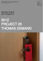 PROJECT 25: THOMAS DEMAND