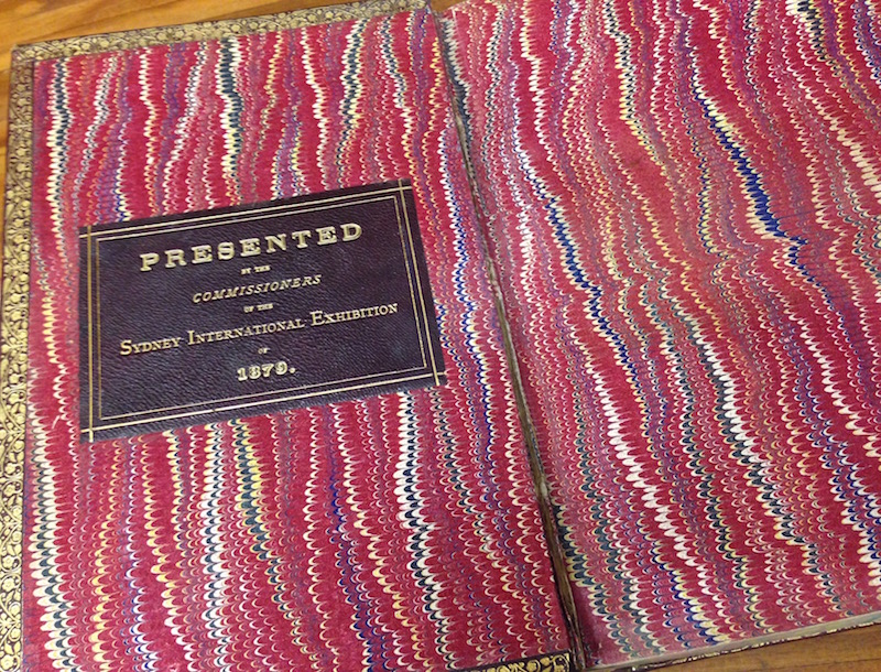 InternationalExhibition catalogueinsidecover