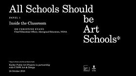 PROGRAM - ALL SCHOOLS SHOULD BE ART SCHOOLS