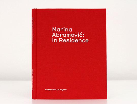 Marina Abramovic: In Residence catalogue