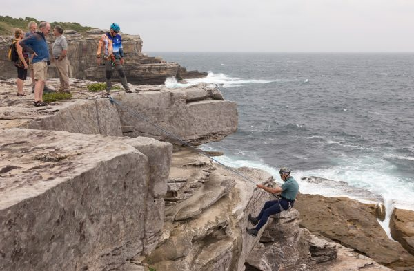 ABSEILING LITTLE BAY